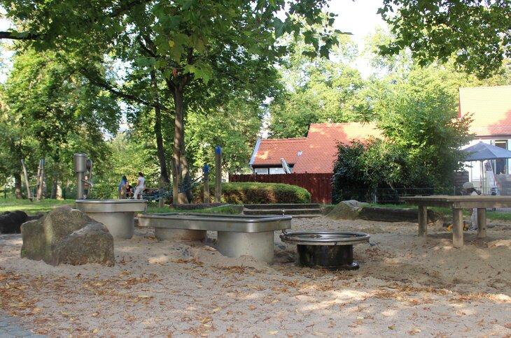 Bad Nauheim Wasserspielplatz